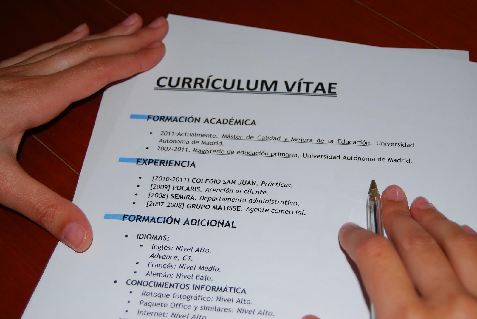 Como hacer un curriculum vitae en word 2007 / Marketing essay