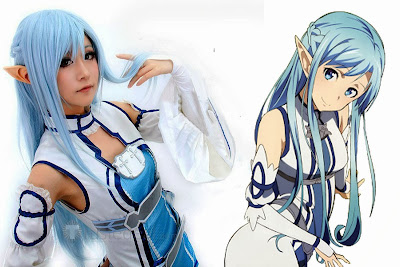 Foto Cosplay Asuna Sword Art Online 07