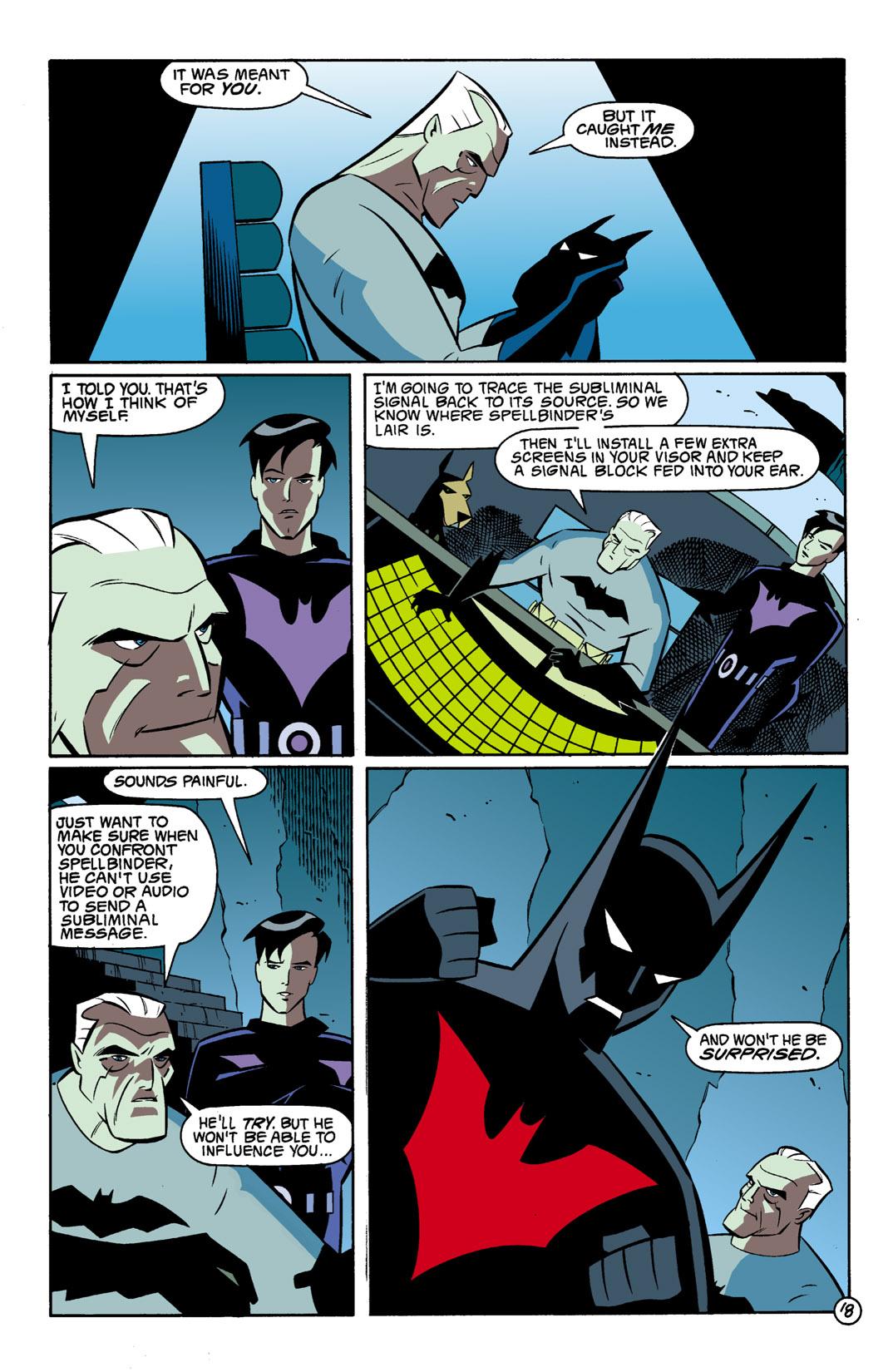 Batman Beyond [II] Issue #1 #1 - English 19