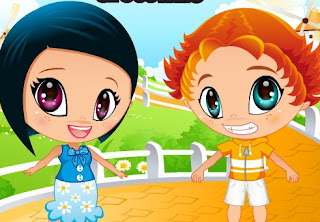 Permainan Anak kembar Keren Dan Lucu