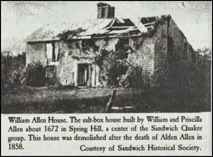 Quaker House 1672