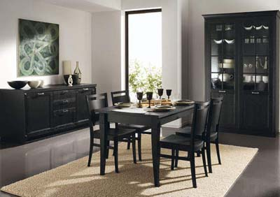 Dining room decorating free design news for Camere da pranzo moderne