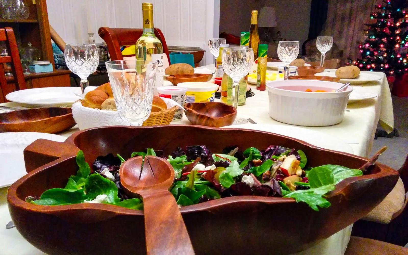 walnut apple salad for #weekdaysupper
