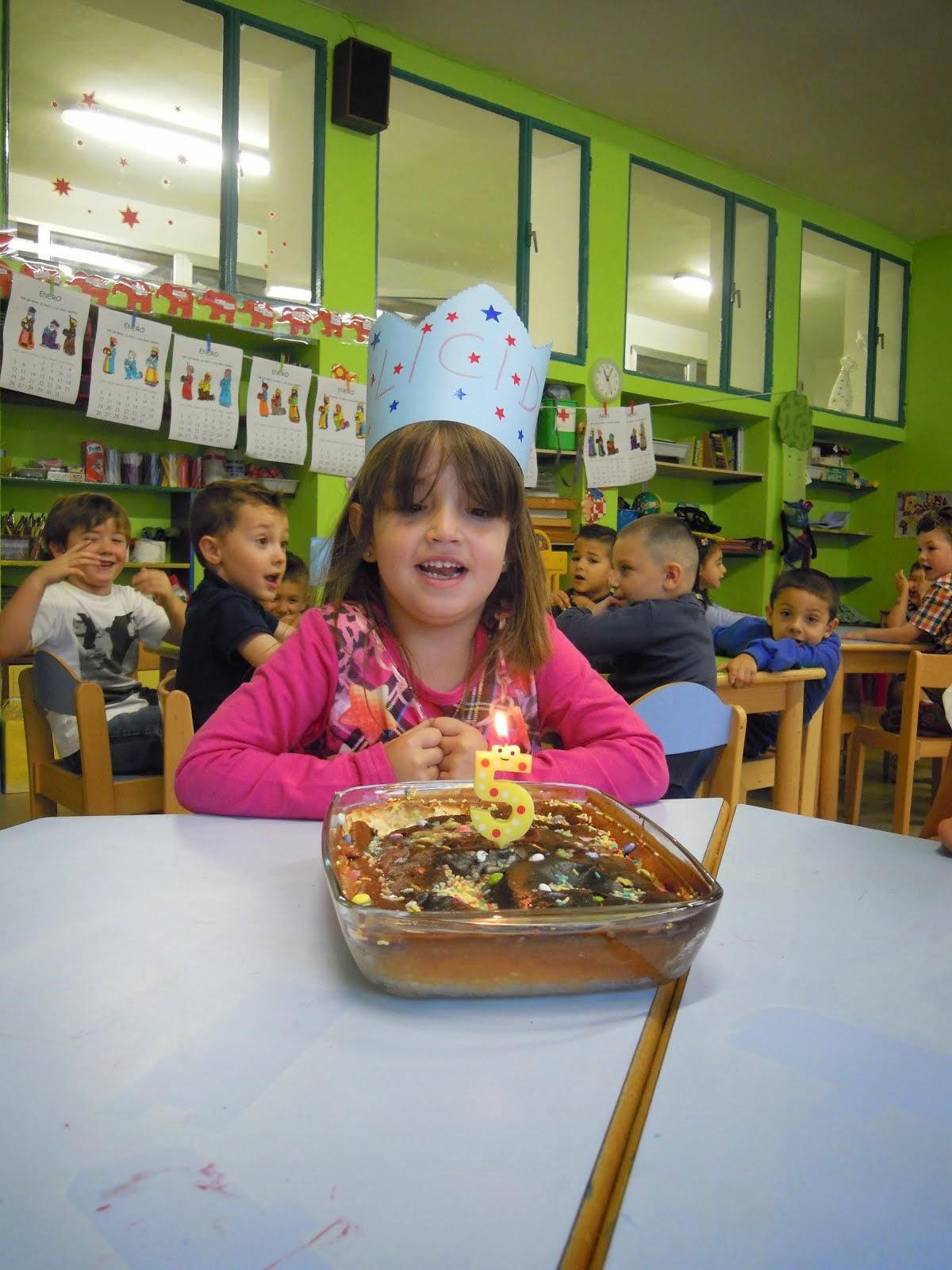 Cumpleaños de Carla