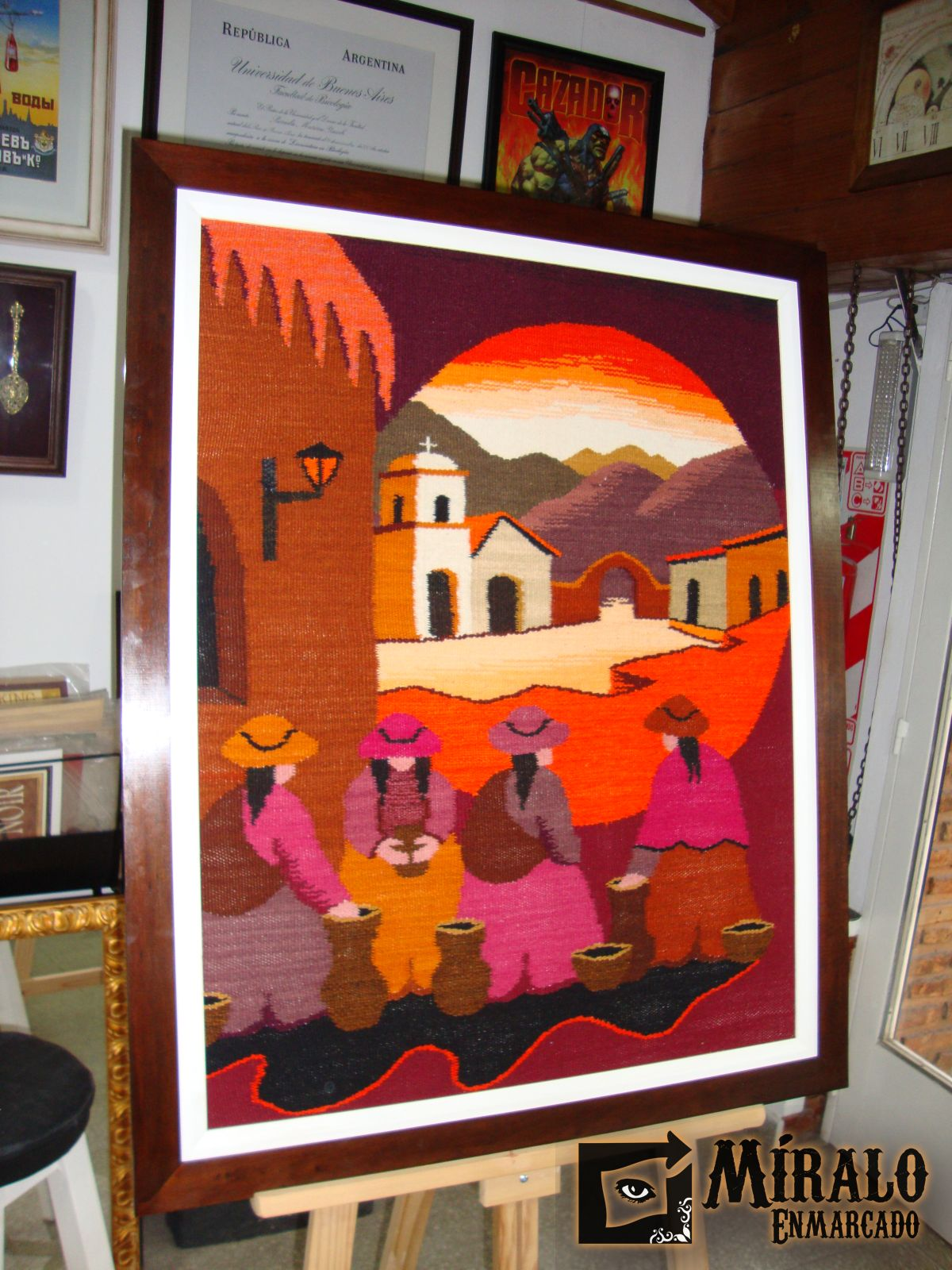 Enmarcado de tapices norte os doble marco - Enmarcado de cuadros ...