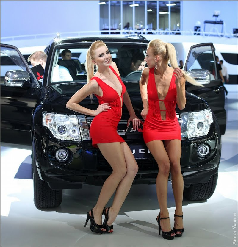 Sexy Girls Of The 2012 Moscow Cars Show Girls And Car
