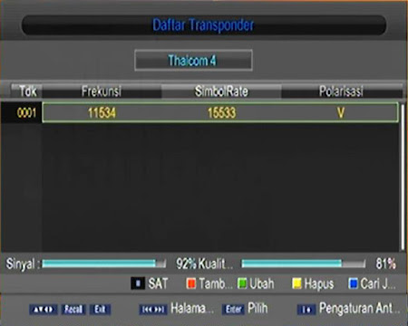 tracking thaicom 4 ku band