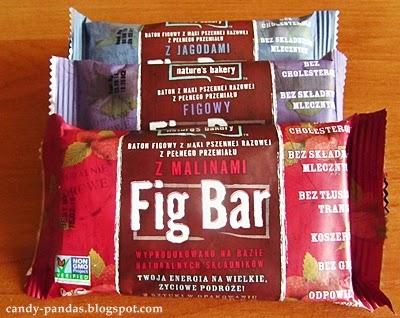 Batony figowe (z figami, jagodami, malinami)