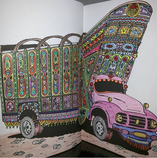 Colorful Car In Pakistan