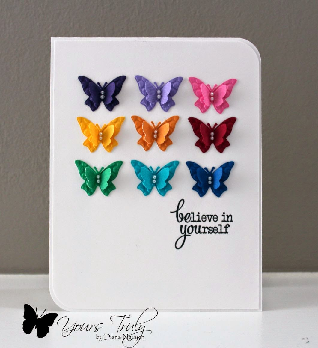 Diana Nguyen, butterfly, verve, card
