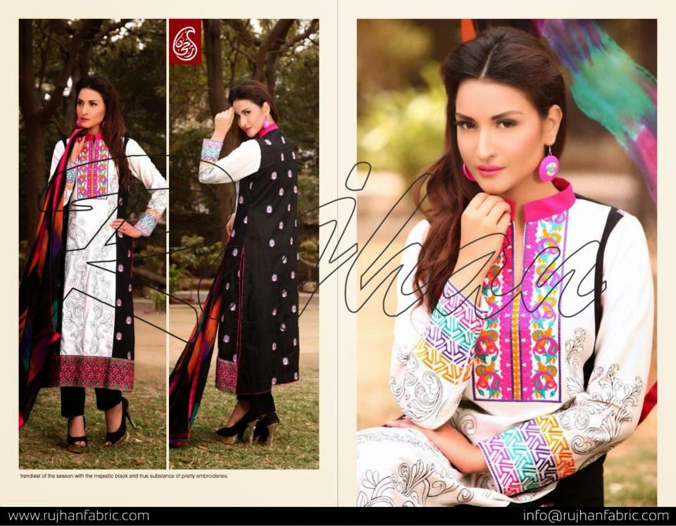 Minahil summer  dresses 2015