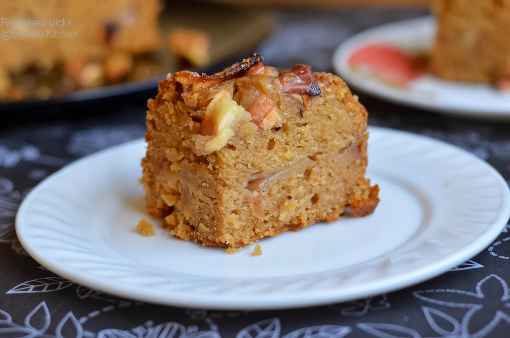Eggless Jewish Apple Cake I Camp In My Kitchen