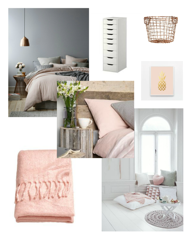 Write Like No One 39 S Watching Pale Pink Grey Bedroom