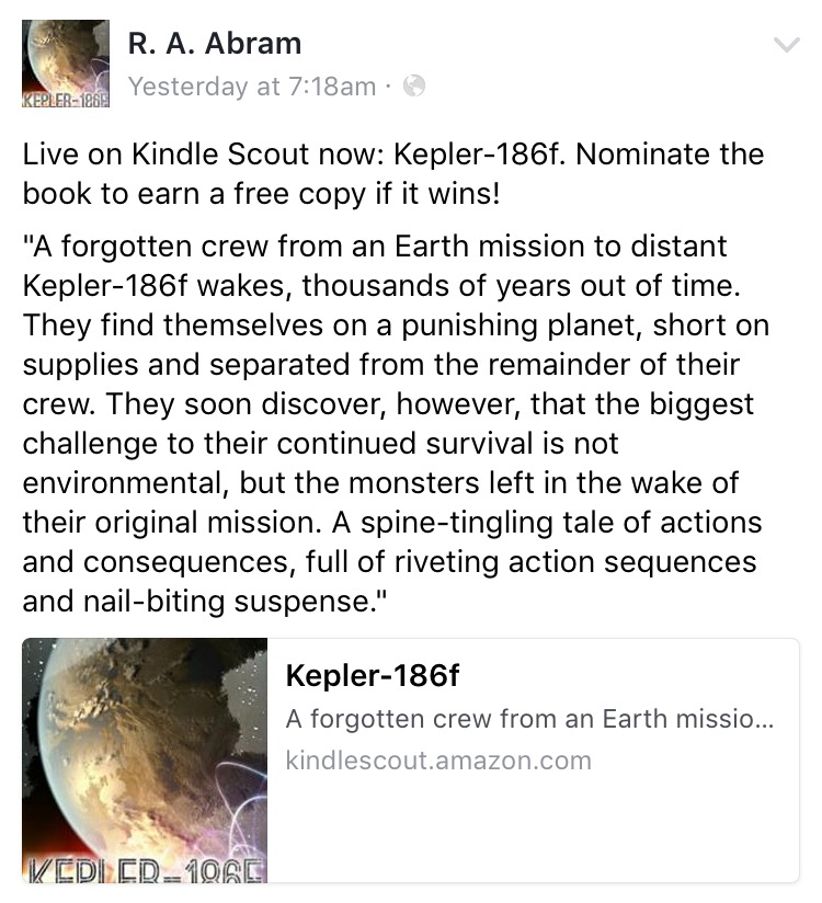 Kepler-186f on Amazon