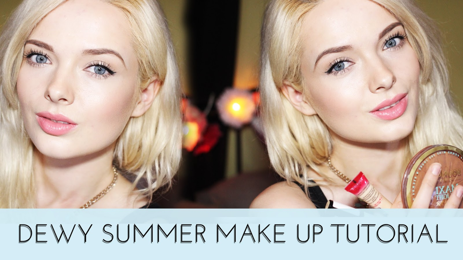 My pale Skin Youtube Dewy Summer skin tutorial Pale skin