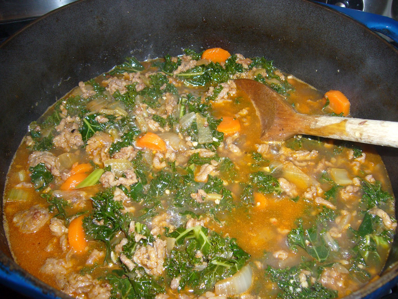 Italian Sausage And Kale Soup Recipe — Dishmaps