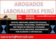 COMUNÍQUESE CON ABOGADOS LABORALISTAS 986206566