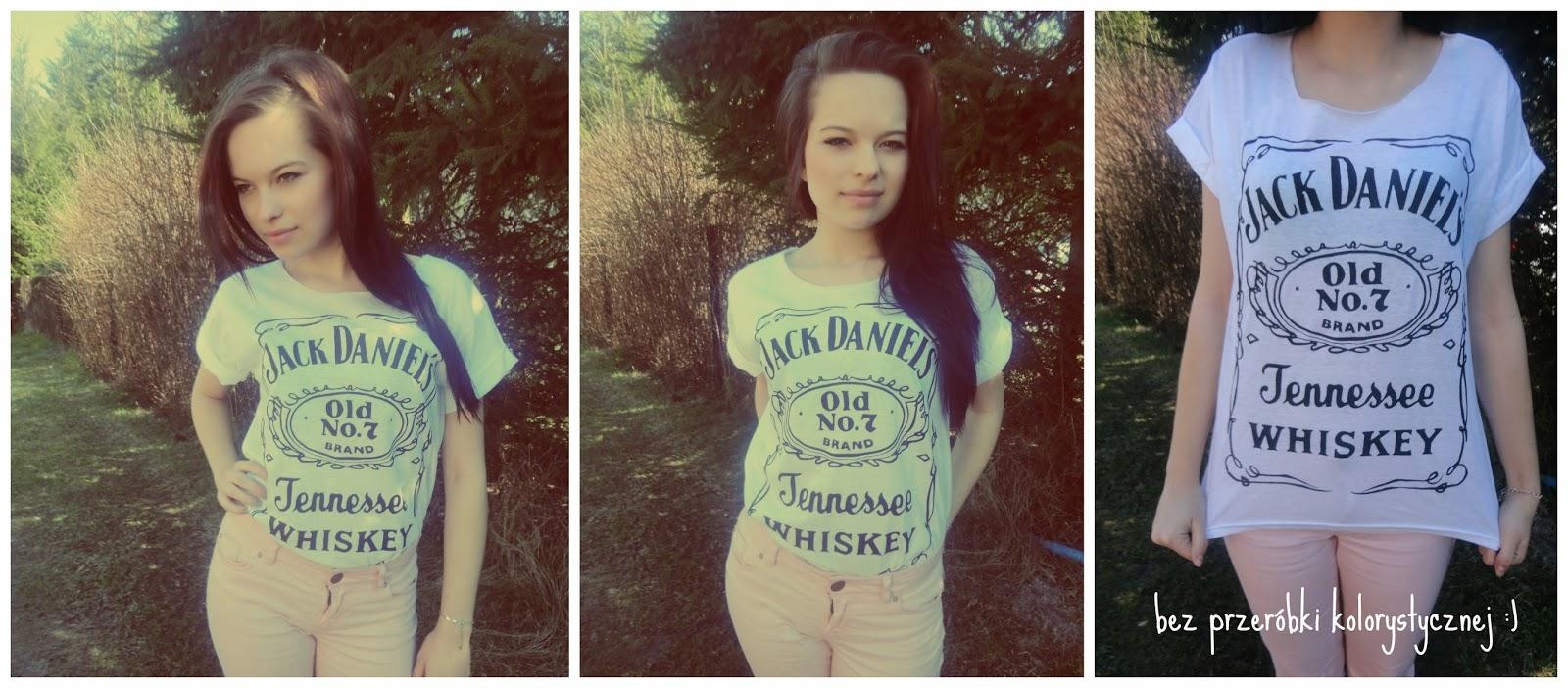 ☼ T-shirt DIY (Jacka Daniels'a).