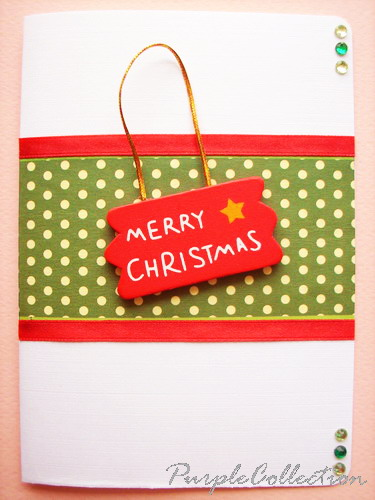 Christmas Red & Green Card, christmas, red, green