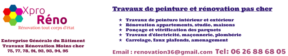 entreprise peinture pas cher | Tel 06 26 88 68 05 | paris et île de france (75,77,78,91,92,93,94,95)