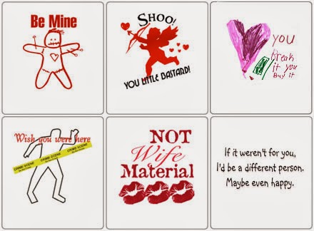 Anti Valentine Day Card 2014