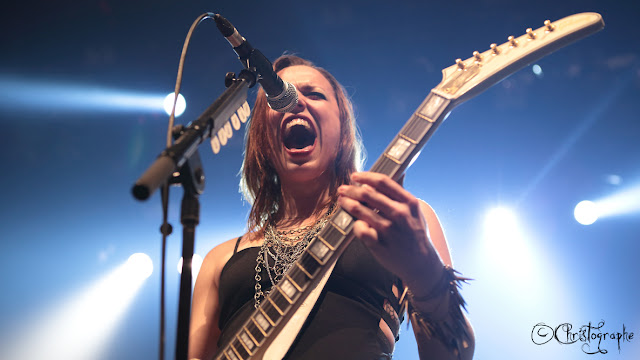 hardforce christographe halestorm bataclan paris 2013