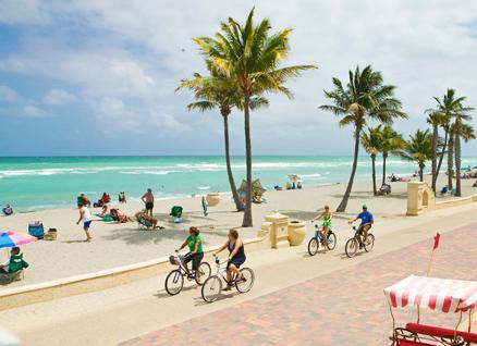 Hollywood Beach Miami Melhores Praias