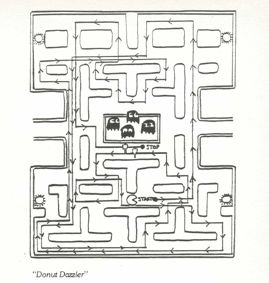 pac man maze coloring pages - photo#7