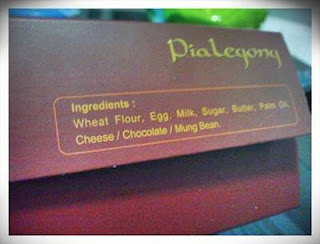 Resep Pia Legong Coklat Dan Keju