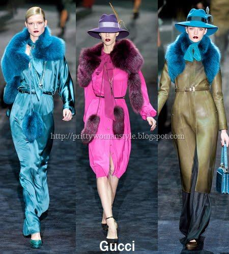 Gucci кожени дрехи 2012