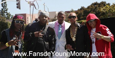 fotos de lil chuckee mack maine tyga y cory gunz young money ymcmb