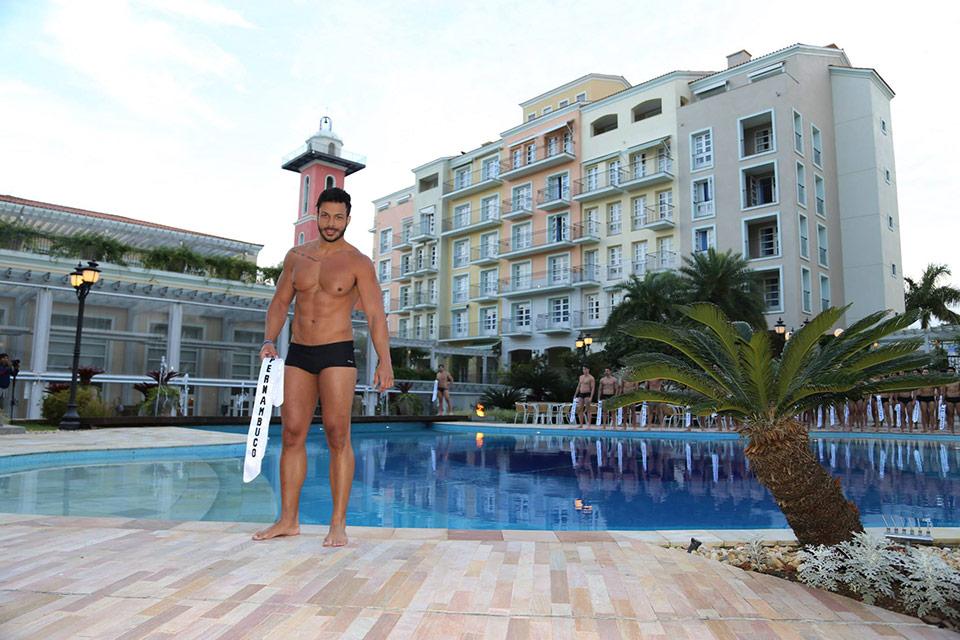 Mister Pernambuco - Gledson Ricca, 30 anos, 1,87 m - Foto: Leonardo Rodrigues