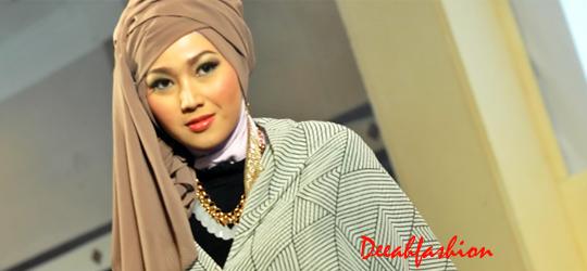 Cara Modis Memakai Jilbab Modern Terbaru