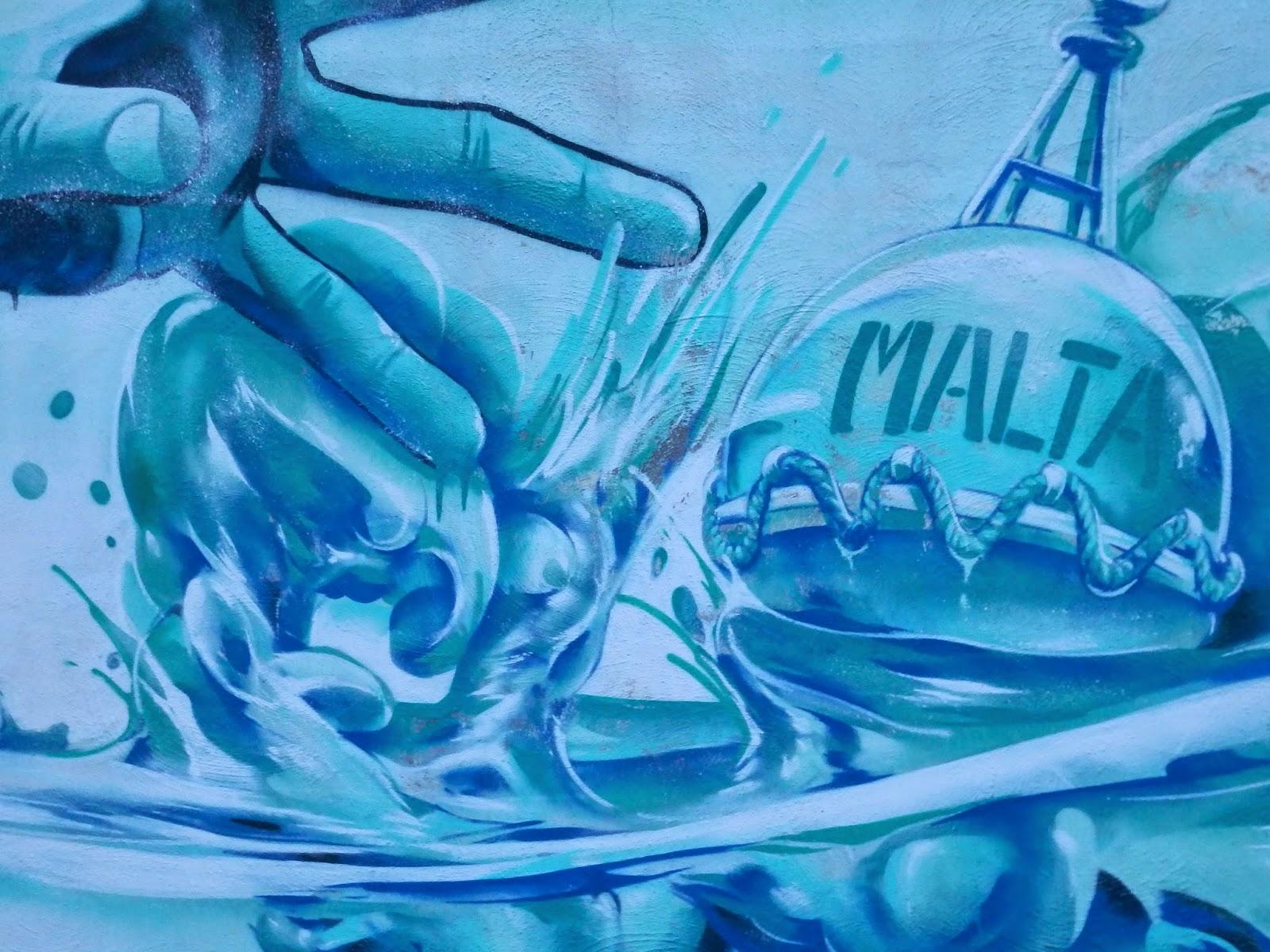 Street art in Malta