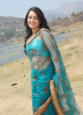 nikitha in saree latest photos