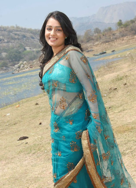 nikitha in saree latest photos
