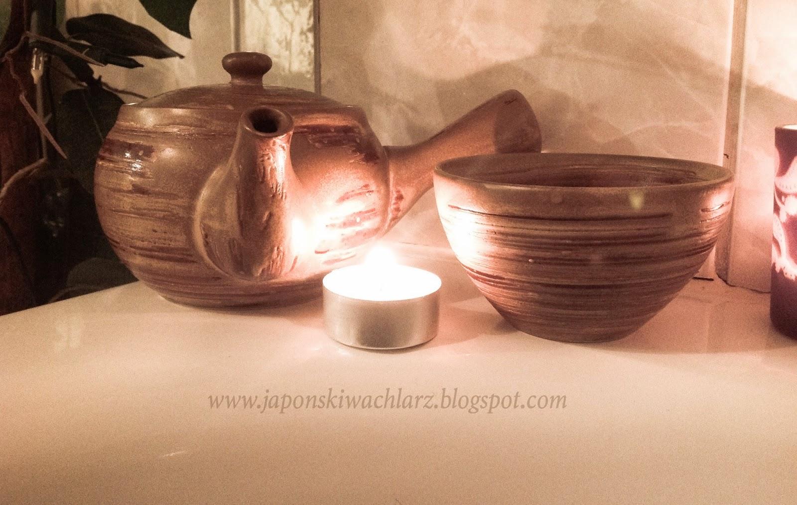 Relaksująca kąpiel z herbatą po japońsku