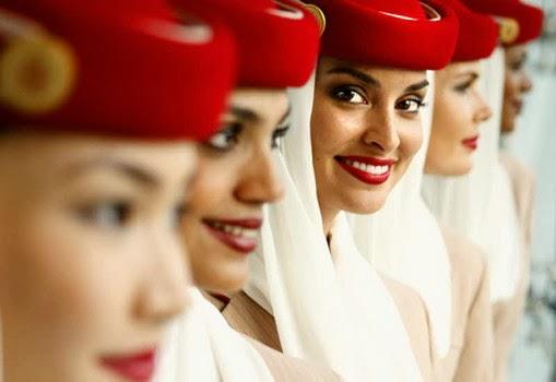 Pramugari Tercantik dan Terbaik emirates
