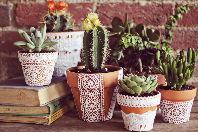 Flower Bed Pot Decorations. 25 Best Ideas About Clay Pots On Pinterest Clay Pot Crafts Flower Pot Crafts And Clay Pot Projects F
