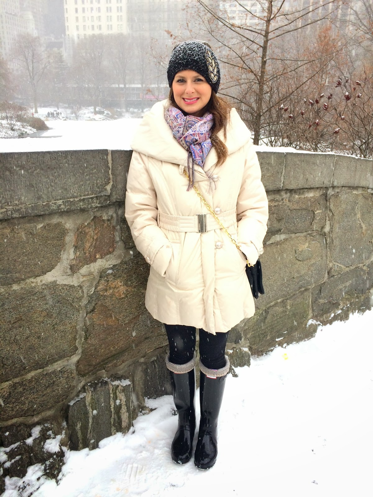 What I Wore Snowy Nyc Southern Style A Life Style Blog