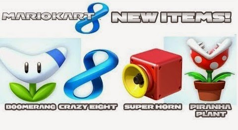 Boomerang Mario Kart Crazy 8 Super Horn MK8 Piranha Plant