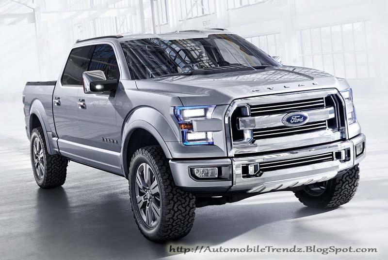 Automobile Trendz: Ford Atlas Concept Truck
