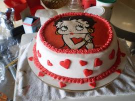 bolo com pasta americana