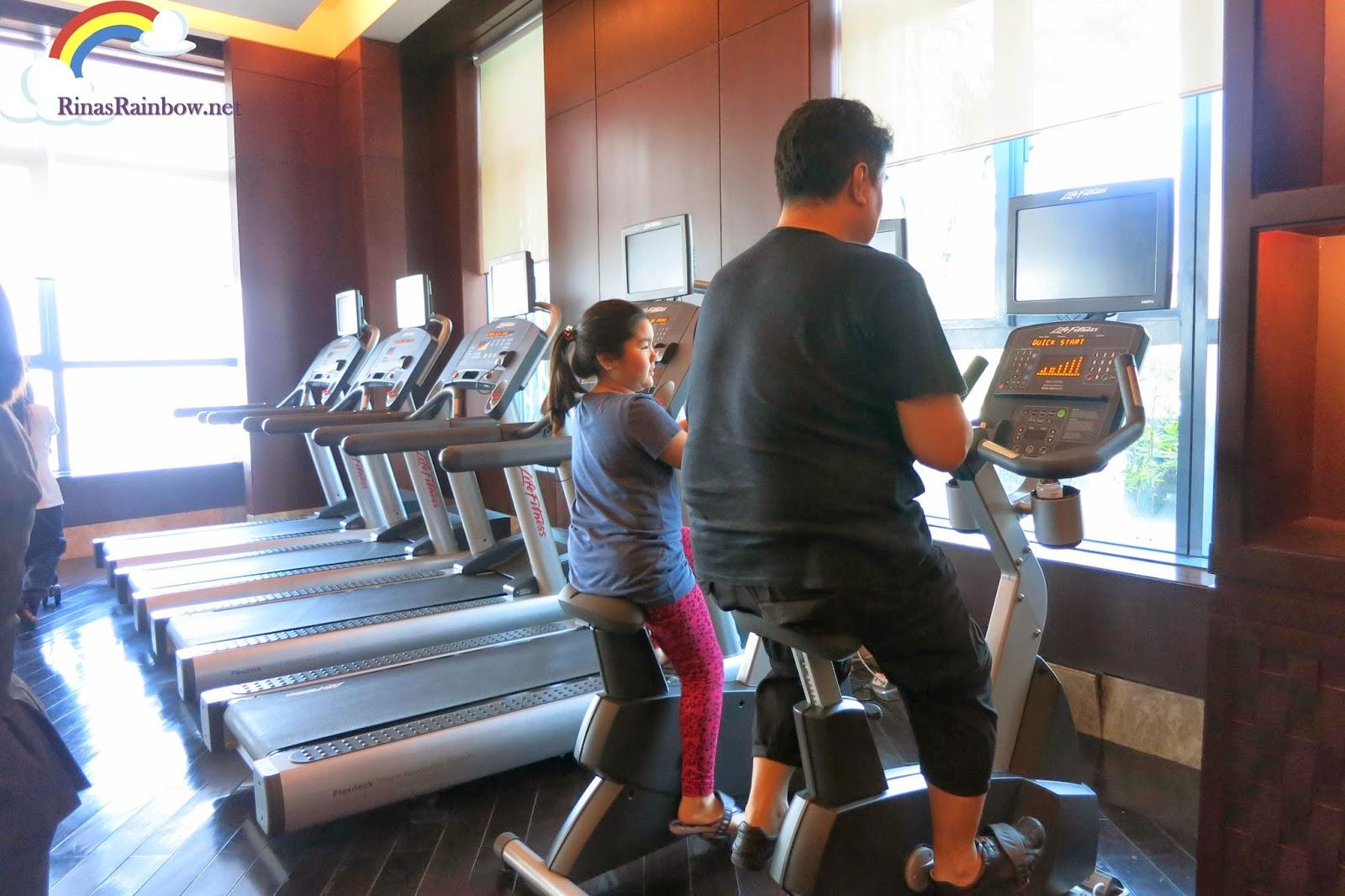 gym crimson hotel