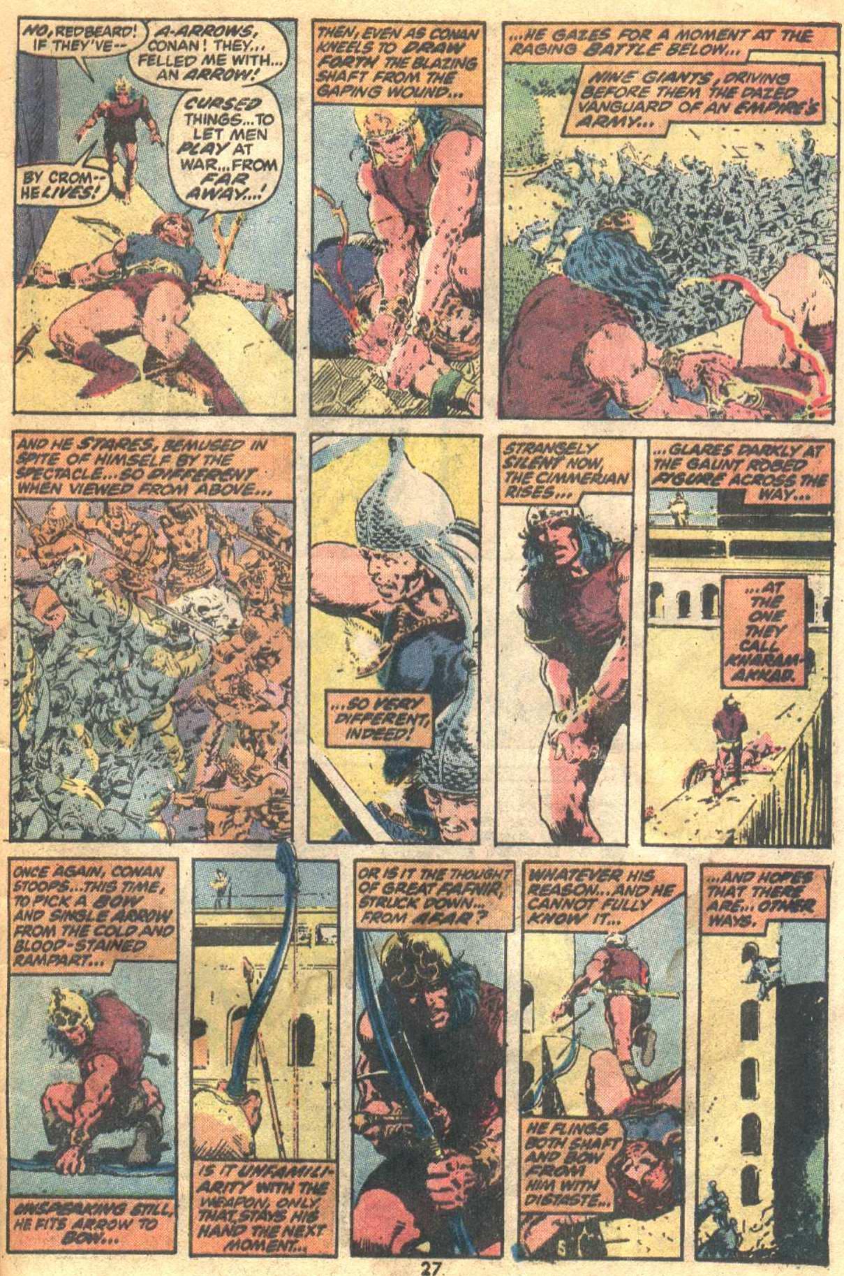 Conan the Barbarian (1970) Issue #19 #31 - English 20