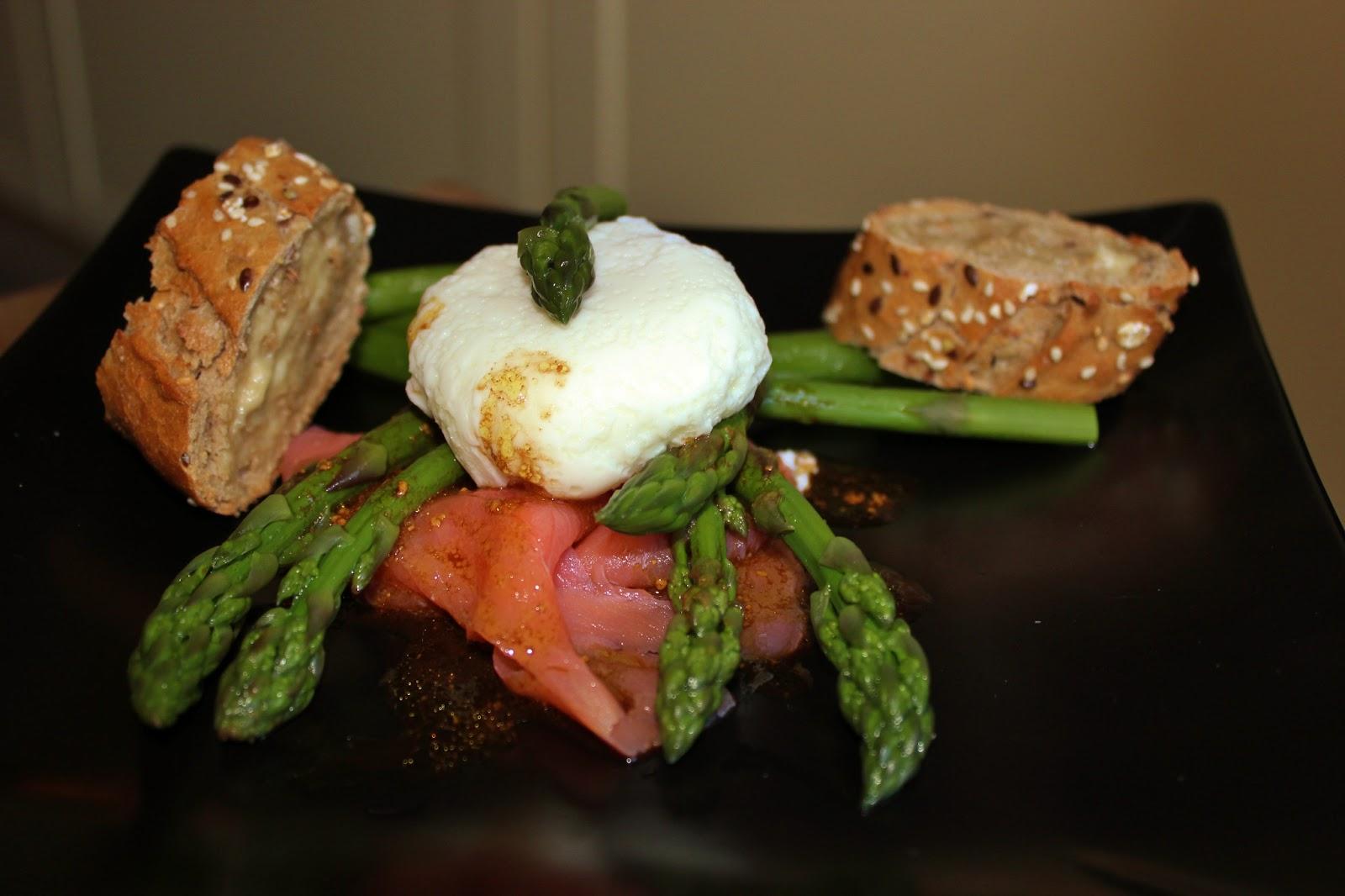 Jessy 39 s kitchen salade d asperges vertes saumon fum et - Cuisiner les asperges vertes ...