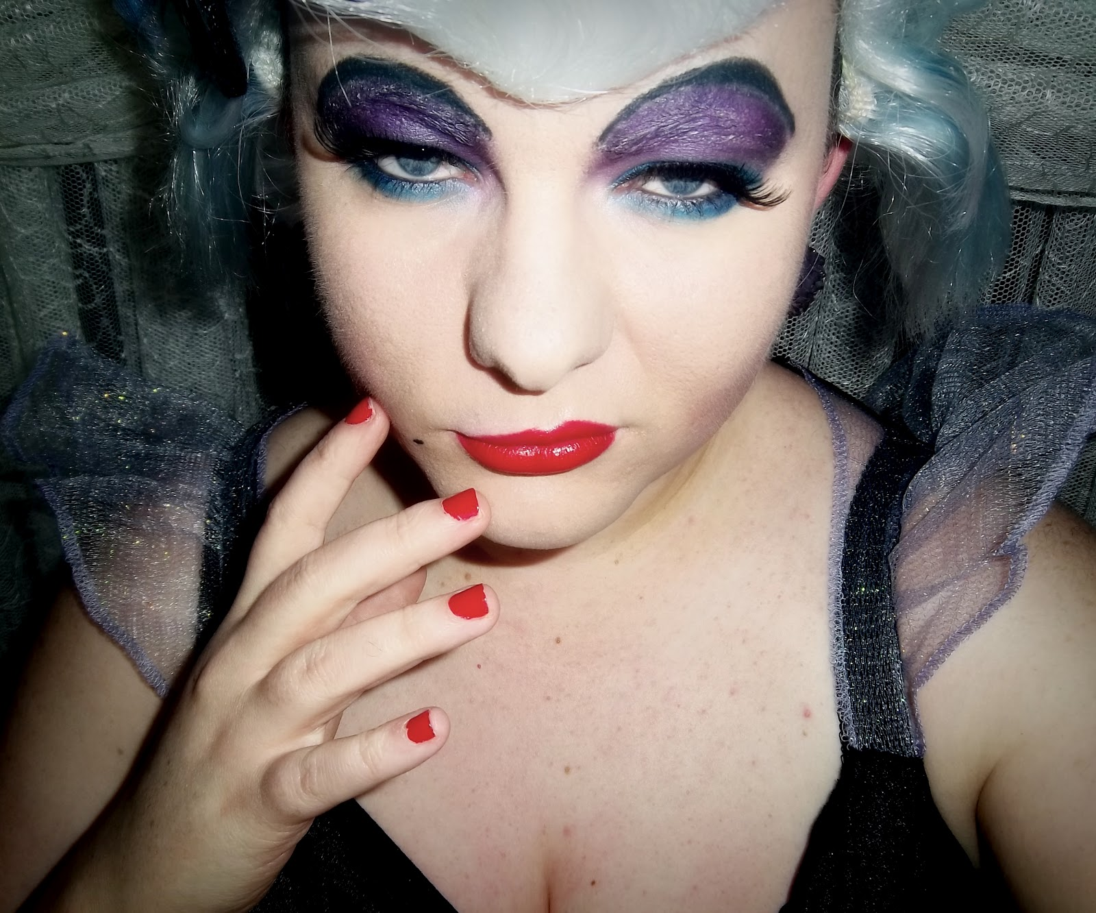 TUTORIAL: URSULA Disney Villain from The Little Mermaid Makeup