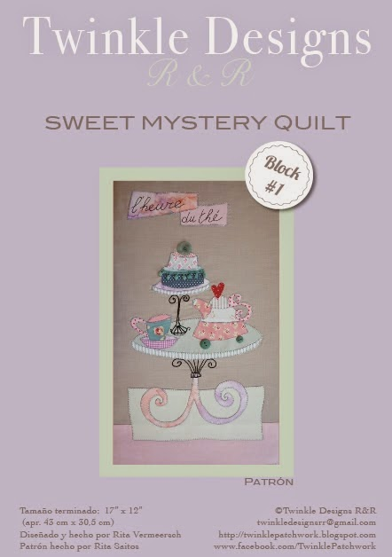 Sweet Mystery Quilt - Bloque 1