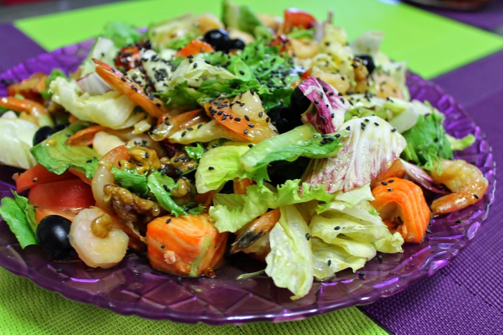 Соус к салату из красной рыбы