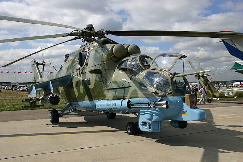Mi-24PN Transport-Combat Helicopter